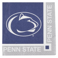 Creative Converting 654729 Penn State University 2-Ply Beverage Napkin - 240/Case
