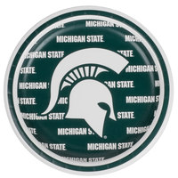 Creative Converting 414716 7 inch Michigan State University Paper Plate - 96/Case