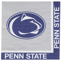 Creative Converting 664729 Penn State University 2-Ply 1/4 Fold Luncheon Napkin - 240/Case