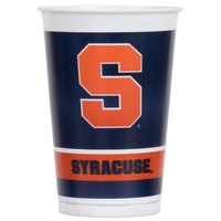 Creative Converting 318306 20 oz. Syracuse University Plastic Cup - 96/Case