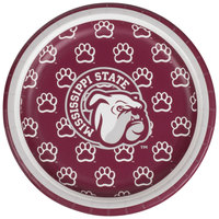 Creative Converting 414094 7 inch Mississippi State University Paper Plate - 96/Case