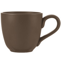 World Tableware DRI-13-D Driftstone 12 oz. Driftwood Satin Matte Porcelain Mug - 12/Case