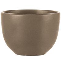 World Tableware DRI-9-S Driftstone 10 oz. Sand Satin Matte Porcelain Bouillon   - 12/Case