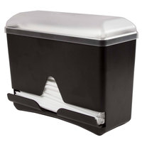 San Jamar ST250 Junior Bulk Straw Dispenser - Black