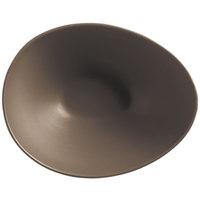 World Tableware DRI-6-S Driftstone 38 oz. Sand Satin Matte Organic Porcelain Bowl - 12/Case