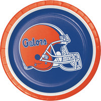 Creative Converting 419698 7 inch University of Florida Paper Plate - 96/Case