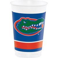 Creative Converting 379698 20 oz. University of Florida Plastic Cup - 96/Case