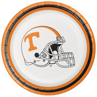 Creative Converting 329144 7 inch University of Tennessee Paper Plate - 96/Case