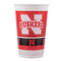 Creative Converting 379853 20 oz. University of Nebraska Plastic Cup - 96/Case