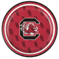 Creative Converting 414890 7 inch University of South Carolina Paper Plate - 96/Case