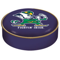 Holland Bar Stool BSCND-Lep 14 1/2 inch University of Notre Dame Vinyl Bar Stool Seat Cover