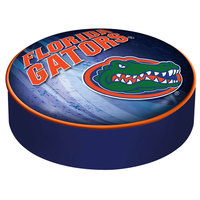 Holland Bar Stool BSCFlorUn-D2 14 1/2 inch University of Florida Vinyl Bar Stool Seat Cover