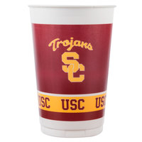 Creative Converting 014857 20 oz. University of Southern California Plastic Cup - 96/Case