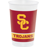 Creative Converting 330557 20 oz. University of Southern California Plastic Cup - 96/Case