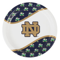 Creative Converting 333084 9 inch Notre Dame Paper Plate - 96/Case