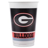Creative Converting 374699 20 oz. University of Georgia Plastic Cup - 96/Case