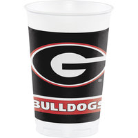 Creative Converting 336373 20 oz. University of Georgia Plastic Cup - 96/Case