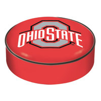 Holland Bar Stool BSCOhioSt 14 1/2 inch Ohio State University Vinyl Bar Stool Seat Cover