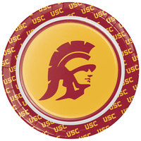 Creative Converting 330556 7 inch University of Southern California Paper Plate - 96/Case