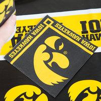 Creative Converting 659900 University of Iowa 2-Ply Beverage Napkin - 240/Case