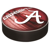 Holland Bar Stool BSCAL-A-D2 14 1/2 inch University of Alabama Vinyl Bar Stool Seat Cover