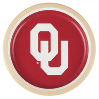 Creative Converting 429844 9 inch University of Oklahoma Paper Plate - 96/Case