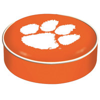 Holland Bar Stool BSCClmson 14 1/2 inch Clemson University Vinyl Bar Stool Seat Cover