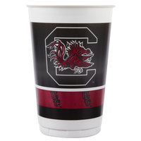 Creative Converting 374890 20 oz. University of South Carolina Plastic Cup - 96/Case