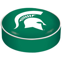 Holland Bar Stool BSCMichSt 14 1/2 inch Michigan State University Vinyl Bar Stool Seat Cover