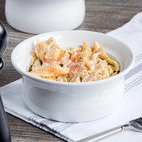 Syracuse China 911194806 Chef's Selection / Reflections 9 oz. Aluma White Medium Porcelain Pot Pie Dish - 24/Case