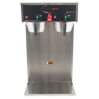 Grindmaster B-DGP PrecisionBrew Digital 2.5 Liter Twin Gravity Container Automatic Coffee Brewer - 120/208-240V