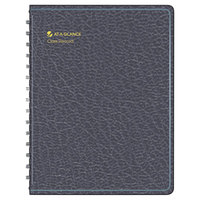 At-A-Glance 8015005 8 1/4 inch x 10 7/8 inch Black Undated Class Record Book