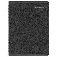 At-A-Glance G52000 DayMinder 8 inch x 11 inch Black January 2019 - December 2019 Weekly Appointment Book