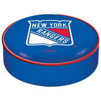 Holland Bar Stool BSCNYRang 14 1/2 inch New York Rangers Vinyl Bar Stool Seat Cover