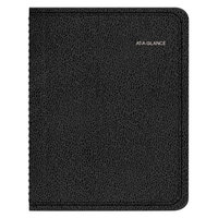 At-A-Glance 7695005 8 1/4 inch x 10 7/8 inch Black January 2019 - December 2019 QuickNotes Weekly / Monthly Appointment Book