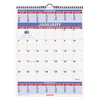 At-A-Glance PM1028 22 inch x 29 inch Monthly January 2019 - December 2019 Wall Calendar with 3 Months Per Page