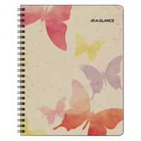 At-A-Glance 791800G Watercolors 6 7/8 inch x 8 3/4 inch January 2019 - January 2020 Monthly Planner