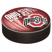 Holland Bar Stool BSCOhioSt-D2 14 1/2 inch Ohio State University Vinyl Bar Stool Seat Cover