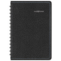 At-A-Glance G10000 DayMinder 4 7/8 inch x 8 inch Black January 2018 - December 2018 Daily Appointment Book