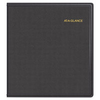 At-A-Glance 7023605 9 inch x 11 inch Black January 2017 - December 2019 Refillable Multi-Year Monthly Planner
