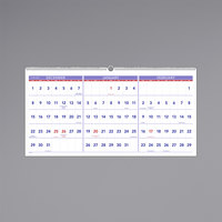 At-A-Glance PM1428 23 1/2 inch x 12 inch Horizontal 3-Month Reference December 2019 - February 2021 Wirebound Wall Calendar