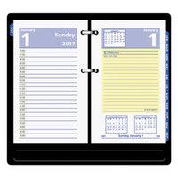 At-A-Glance E51750 QuickNotes 3 1/2 inch x 6 inch 2019 Desk Calendar Refill