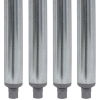 Advance Tabco SU-11B 10 inch Galvanized Steel Legs - 4/Set