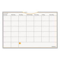 At-A-Glance AW402028 WallMates 12 inch x 18 inch Self-Adhesive Dry Erase Monthly Planning Surface