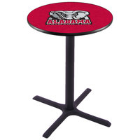 Holland Bar Stool L211B36AL-Ele 28 inch Round University of Alabama Pub Table