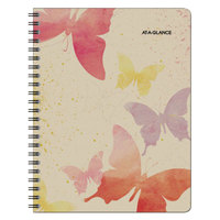 At-A-Glance 791905G Watercolors 8 1/2 inch x 11 inch January 2018 - January 2019 Weekly / Monthly Planner