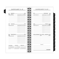 At-A-Glance 7090710 6 1/4 inch x 3 1/4 inch Executive Pocket Size Weekly / Monthly 2020 Planner Refill
