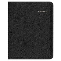 At-A-Glance 760105 8 inch x 9 7/8 inch Black January 2019 - December 2019 QuickNotes Weekly / Monthly Appointment Book