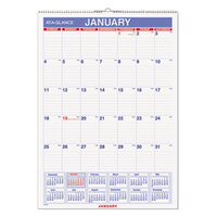 At-A-Glance PMLM0228 12 inch x 17 inch Erasable Monthly January 2018 - December 2018 Wall Calendar