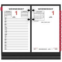 At-A-Glance E01750 3 1/2 inch x 6 inch Two Color 2020 Desk Calendar Refill